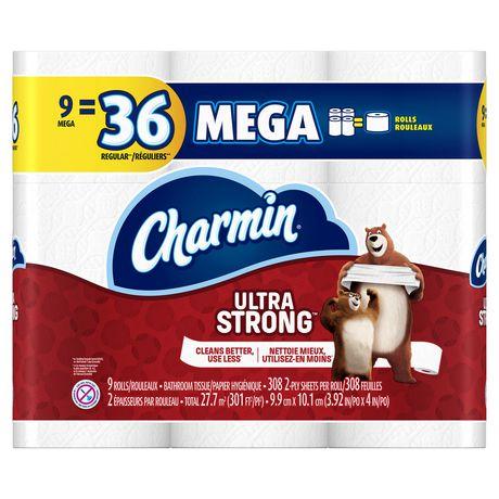 Upc 037000941538 Charmin Ultra Strong Toilet Paper Mega