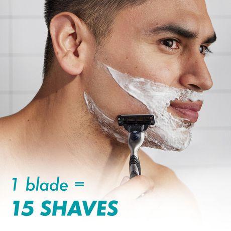 gillette mach3 razor blades refills. Black Bedroom Furniture Sets. Home Design Ideas