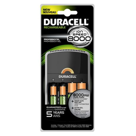 duracell battery charger ion speed 8000 1 count. Black Bedroom Furniture Sets. Home Design Ideas