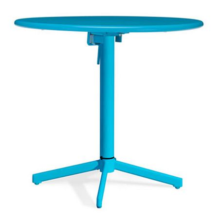 Table ronde pliante big wave aqua 703048 for Table exterieur walmart