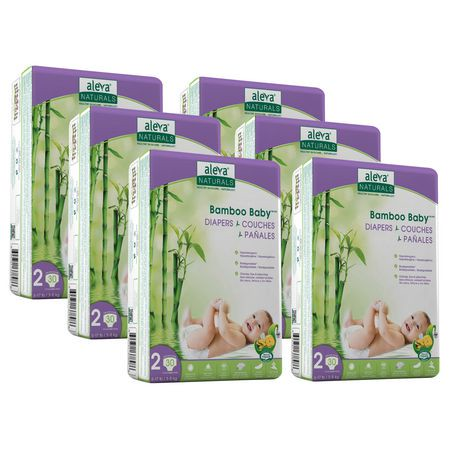 Aleva Naturals Bamboo Baby Diapers Reviews