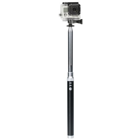 cta digital bluetooth selfie stick with built in power bank. Black Bedroom Furniture Sets. Home Design Ideas