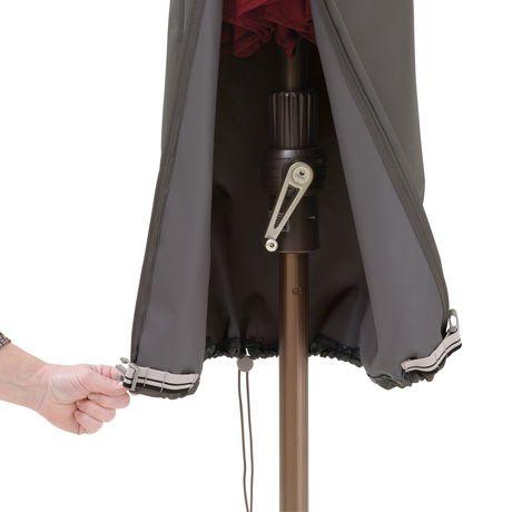 Classic Accessories Ravenna Offset Umbrella Cover Dark