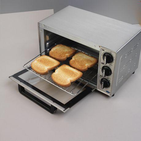 Black space maker decker toaster over