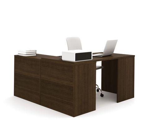 Walmart L Shaped Desk Bush Cabot L Shaped Computer Desk