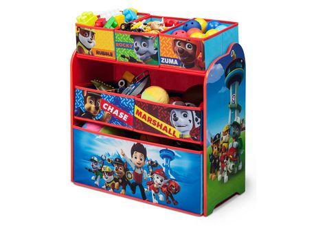Paw Patrol Multi Bin Toy Organizer Walmart Ca