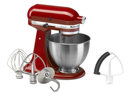 Kitchenaid ultra power 4 5 quart stand mixer with bonus flex edge beater - Walmart kitchen aid stand mixer ...