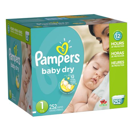 Couches s ches pour b b de pampers de format conomique plus - Reduction couches pampers a imprimer ...