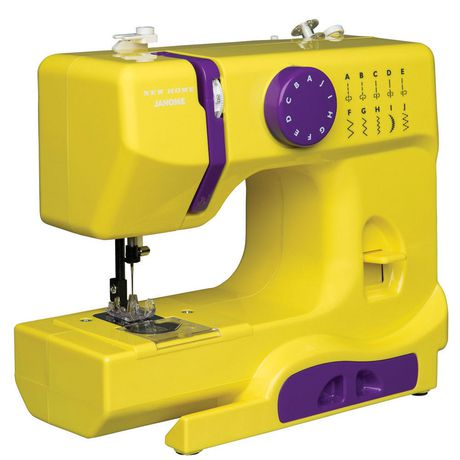 Janome machine coudre portative for Machine a coudre walmart
