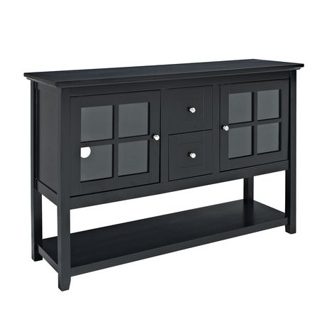 52 black wood console table tv stand for Table 52 reviews