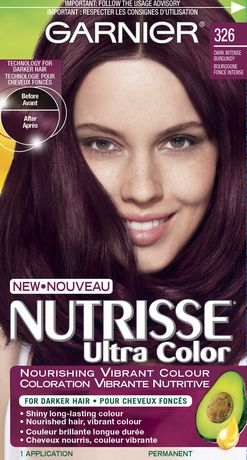 garnier nutrisse intense coloration walmartca - Coloration Cheveux Garnier