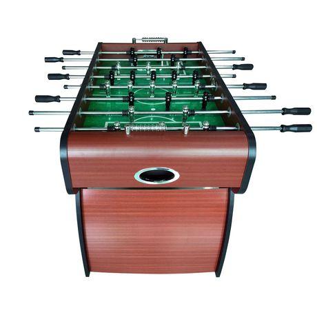 Hathaway metropolitan 54 inch foosball table for 12 in 1 game table walmart