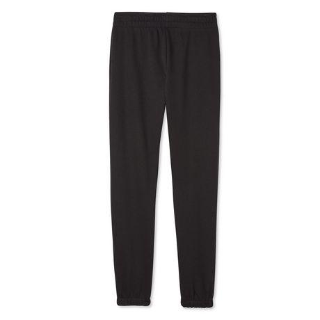 Bahilye Boy and Cat Black Boys Sweatpants Drawstring Long Pants