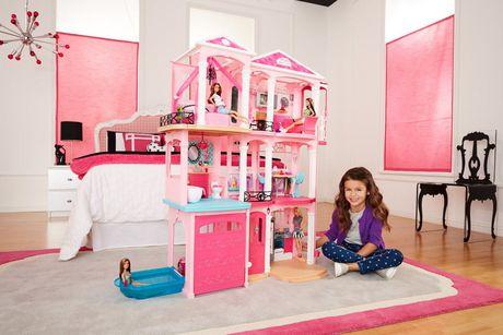 Ensemble de jeu maison de r ve de barbie - Barbie et sa maison de reve en francais ...