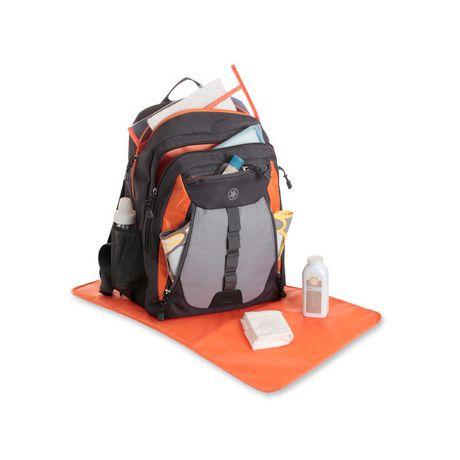 jeep everyday diaper bag black orange. Black Bedroom Furniture Sets. Home Design Ideas