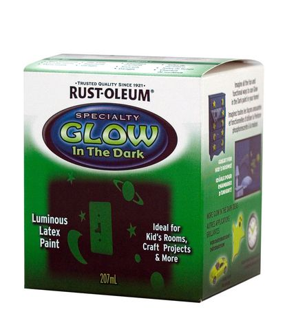 specialty glow in the dark spray paint 207 ml by rust oleum specialty. Black Bedroom Furniture Sets. Home Design Ideas