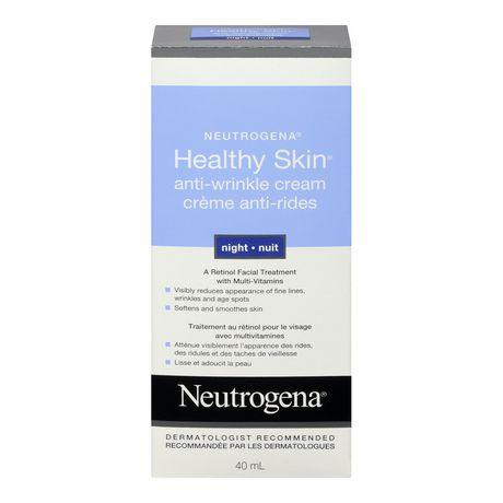 Neutrogena® Healthy Skin® Night Anti-Wrinkle Cream ...