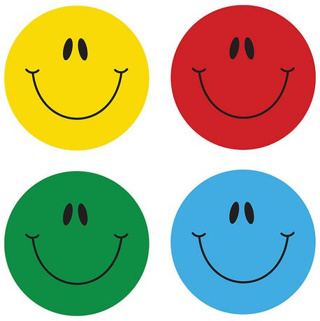 Smiley face stickers for Autocollant mural walmart