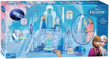 Mattel disney la reine des neiges coffret de jeu le - Palais de glace reine des neiges ...