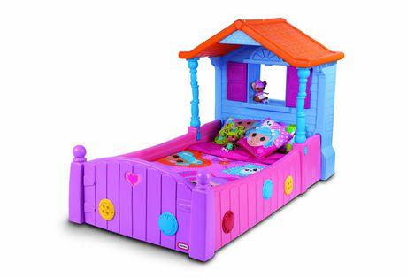 lit fille little tikes. Black Bedroom Furniture Sets. Home Design Ideas