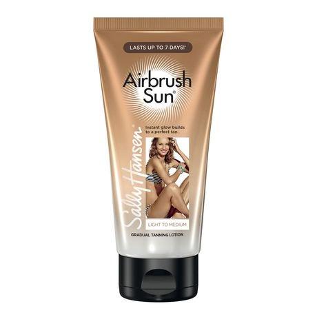 sally hansen airbrush sun gradual tanning lotion
