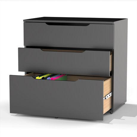 fili re 3 tiroirs next de nexera. Black Bedroom Furniture Sets. Home Design Ideas