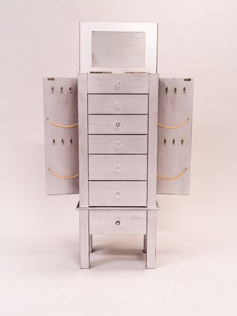 Hives & Honey Hannah Jewelry Armoire - Silver | Walmart.ca