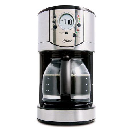 Oster Programmable Coffee Maker Reviews : Oster 12-Cup Stainless Steel Programmable Coffee Maker - BVSTCJ0031-33A Walmart.ca