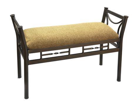 banc d 39 appoint ethan de brassex 545 25. Black Bedroom Furniture Sets. Home Design Ideas