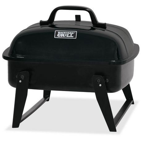 Barbecue portatif au charbon de bois de 14 po de backyard grill cbt13081w c - Barbecue portatif charbon ...