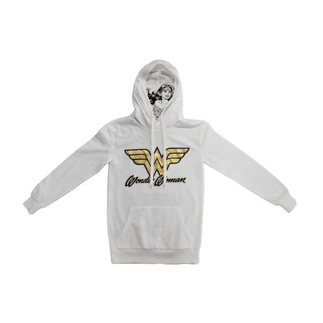 DC Comics Fille Wonder Woman Fight for Peace Sweat /À Capuche