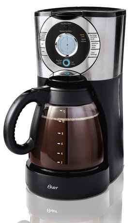 Oster Programmable Coffee Maker Reviews : Oster 12-Cup Programmable Coffee Maker Walmart Canada