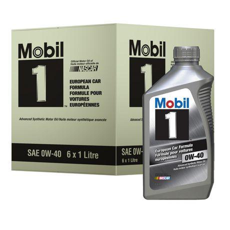 mobil european car formula advanced synthetic motor oil 1. Black Bedroom Furniture Sets. Home Design Ideas