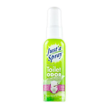 Justa spray toilet odor eliminator walmartca for Bathroom odor eliminator