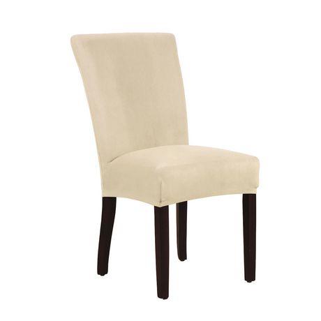 Housse extensible pour chaise harlow de salle manger - Housse chaise salle a manger ...