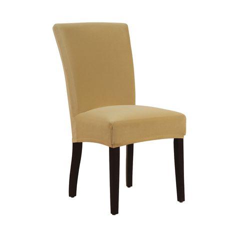 stretch velvet dining chair stretch slipcover walmart ca