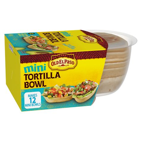 Old El Paso™ Mini Tortilla Bowl | Walmart.ca
