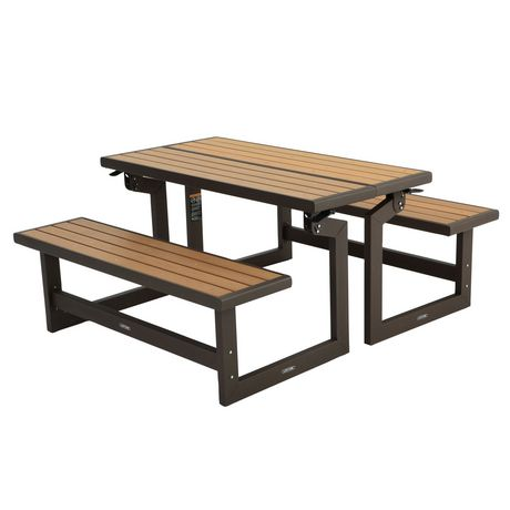 lifetime convertible bench. Black Bedroom Furniture Sets. Home Design Ideas