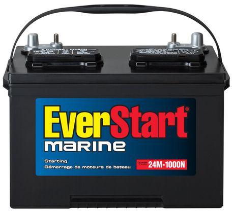 everstart marine battery 24m 1000n at. Black Bedroom Furniture Sets. Home Design Ideas