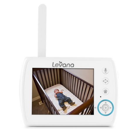 levana astra 3 5 digital video baby monitor walmart canada. Black Bedroom Furniture Sets. Home Design Ideas