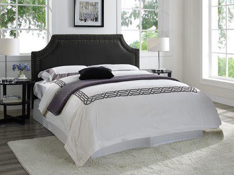 t te de lit london en bois massif de lifestyles solutions. Black Bedroom Furniture Sets. Home Design Ideas