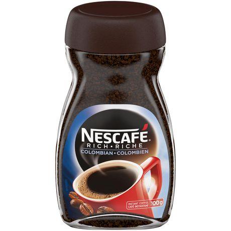 Nescafe 100 colombian instant coffee