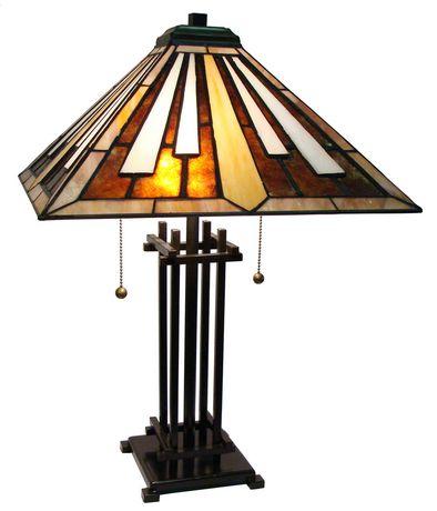 lampe de table de style tiffany. Black Bedroom Furniture Sets. Home Design Ideas