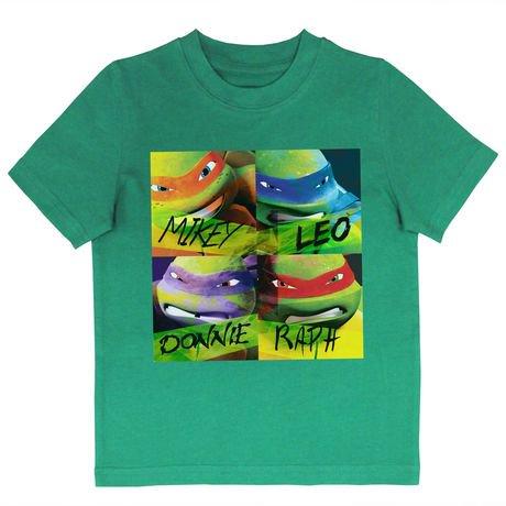 Teenage Mutant Ninja Turtles Boys Short Sleeve Tee Shirt