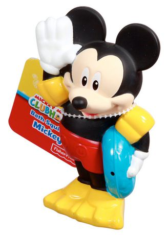 Fisher Price Disney Mickey Mouse Clubhouse Bath Squirter Mickey