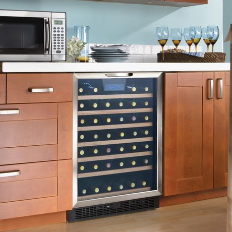 Danby Designer 5 3 Cu Ft 50 Bottle Free Standing Wine