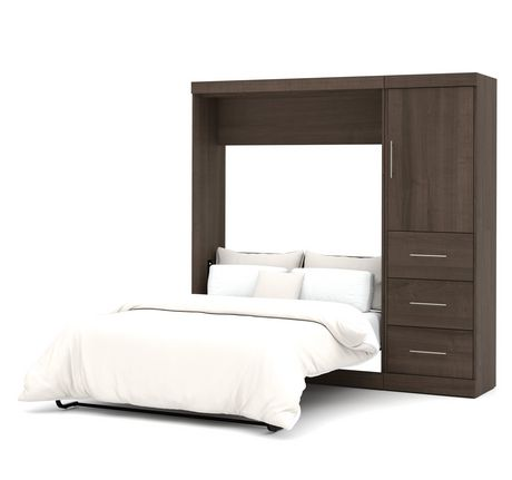 ensemble lit escamotable 2 places 84 po de nebula par. Black Bedroom Furniture Sets. Home Design Ideas