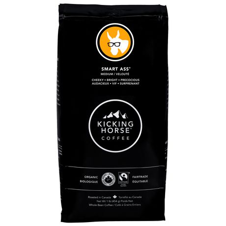 Kicking Horse 174 Coffee Organic Smart Ass 174 Medium Roast