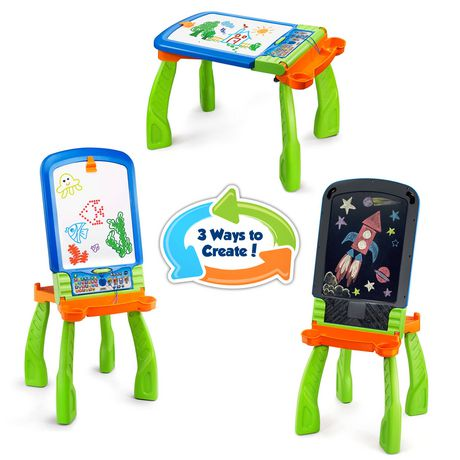 vtech digiart creative easel interactive learning toy english. Black Bedroom Furniture Sets. Home Design Ideas