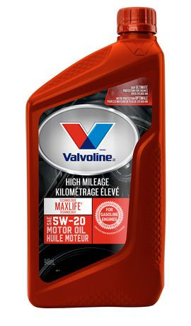 Synthetic Blend Oil >> Valvoline MaxLife® High Mileage Synthetic Blend 5W-20 Motor Oil, 946 mL | Walmart.ca